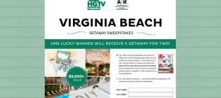 HGTV Magazine AR Workshop Virginia Beach Getaway Sweepstakes