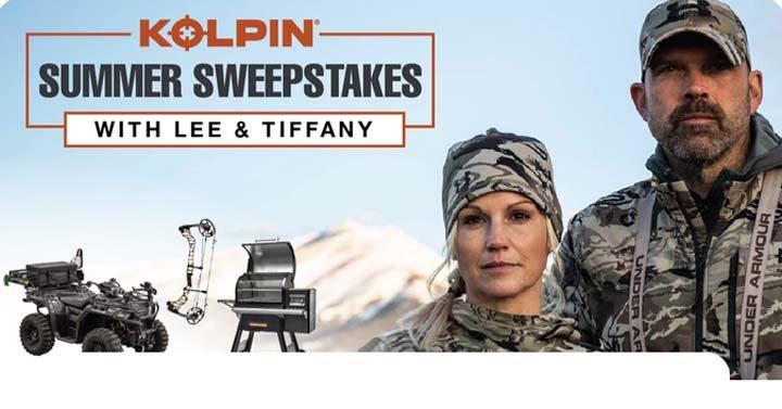 Kolpin Lee & Tiffany Archery Sweepstakes - Kolpin com/Sweeps