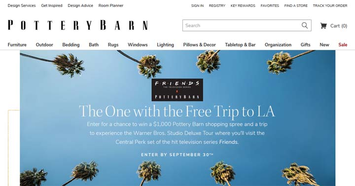 One with the Free Trip to L.A. Sweepstakes