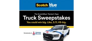 ScotchBlue Painter's Tape Sweepstakes