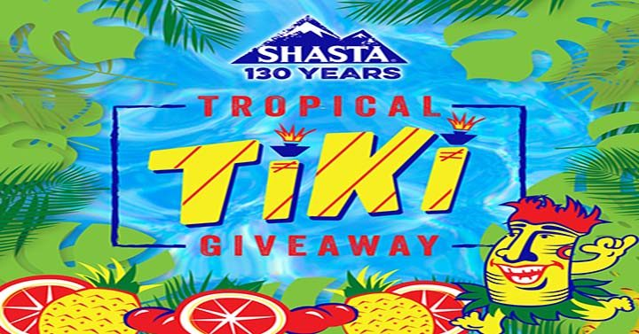 Shasta Tropical Tiki Giveaway