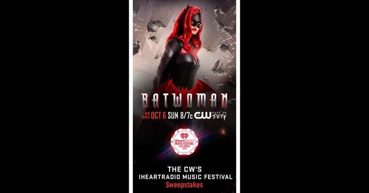 CW's iHeartRadio Music Festival Flyaway Sweepstakes