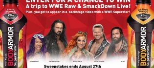 WWE BODYARMOR Sweepstakes