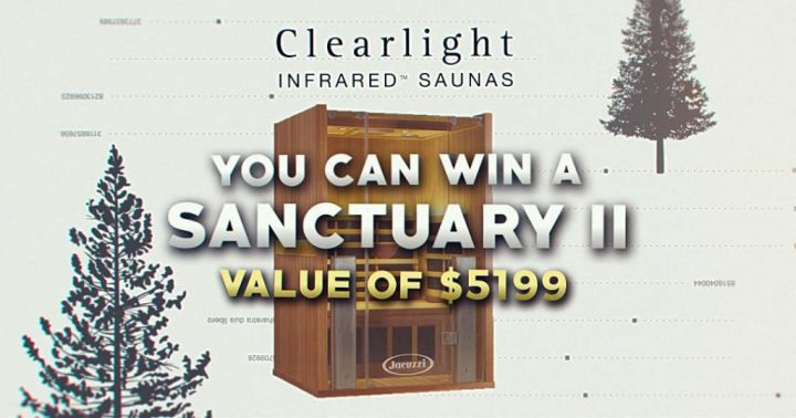 Northern Saunas Clearlight Sanctuary 2 Sweepstakes