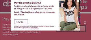 eBay Scratch & Sell Sweeps