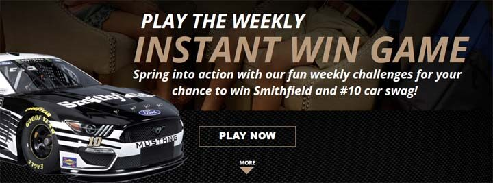 Smithfield Fuel Up Your Family Sweepstakes Prizes