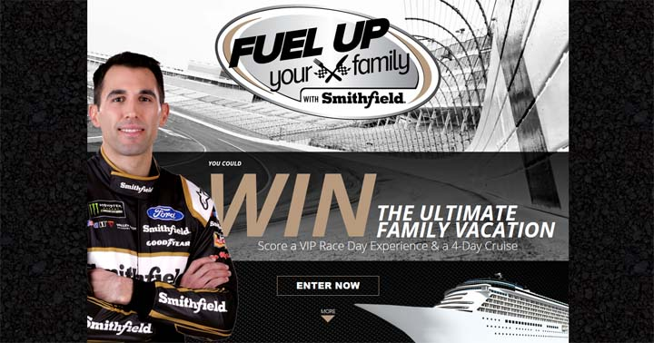Smithfield Fuel Up Your Family Promotion Sweepstakes