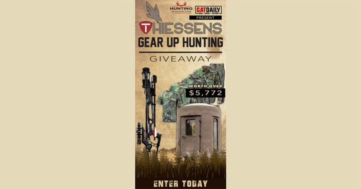 GAT Daily Thiessens Gear Up Hunting Giveaway