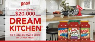 RAGÚ Dream Kitchen Giveaway