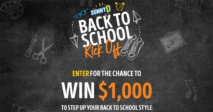 SunnyD Back to School Kick Off Contest