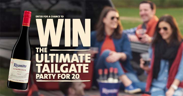 Riunite Ultimate Tailgate Party Sweepstakes