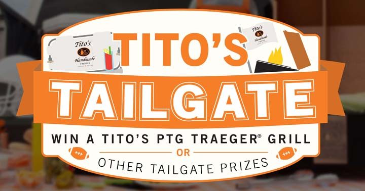 Tito's Fall Tailgating Program Sweepstakes