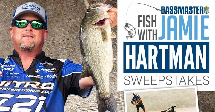 Fish with Jamie Hartman Sweepstakes