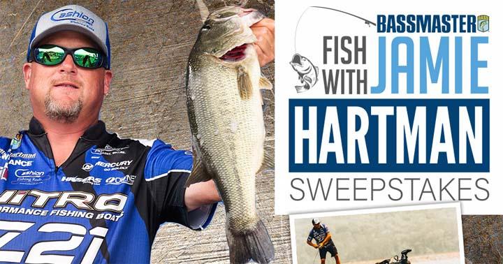 Fish with Jamie Hartman Sweepstakes