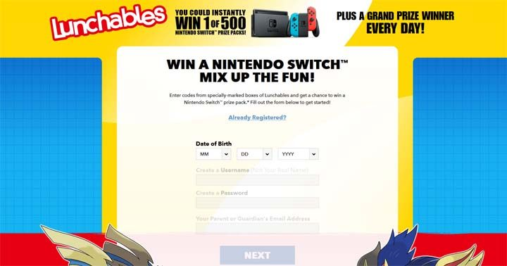 Kraft Heinz Lunchables Mixed-Up Gamers Giveaway