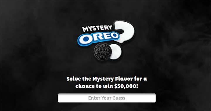 OREO Mystery Flavor Contest