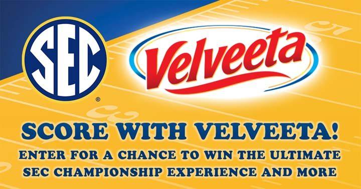 Score with Velveeta Sweepstakes
