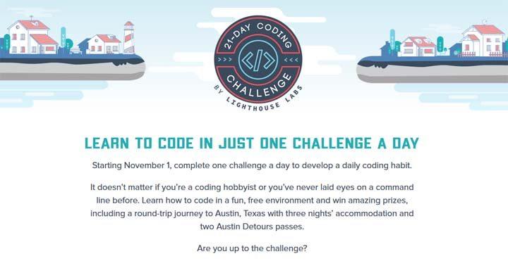 21 Day Coding Challenge Contest