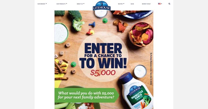 Litehouse Do Family Night Right Sweepstakes