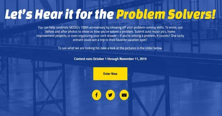 MOOG Problem Solver Contest