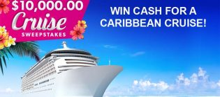 PCH Enter Cruise Sweeps 10K Giveaway No. 13767