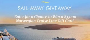 Sail-Away Giveaway Sweepstakes