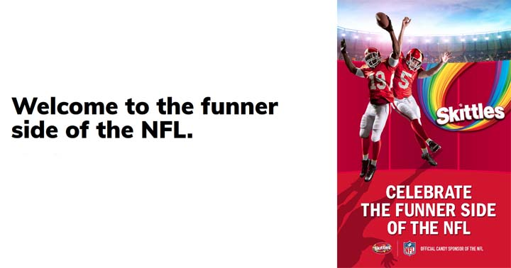 Snickers + Skittles Celebrate the Funner Side of the NFL Promotion