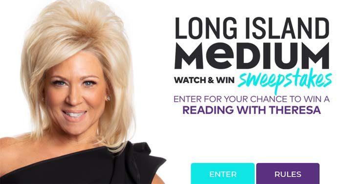 Long Island Medium Watch & Win Sweepstakes