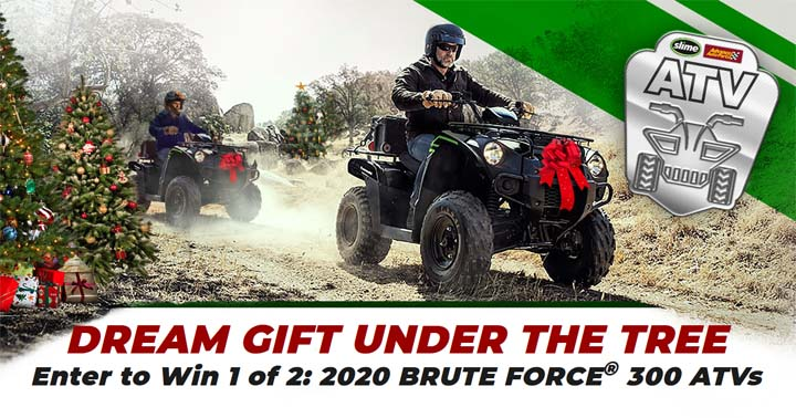 Slime ATV Giveaway at Advance Auto Parts