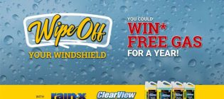 Rain-X Wipe Off Your Windshield Contest