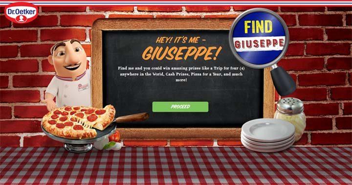 Dr. Oetker Find Giuseppe Contest