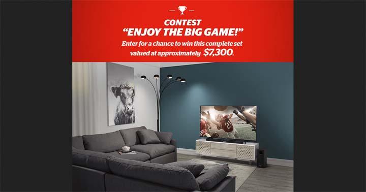 Brault & Martineau Enjoy the Big Game Contest