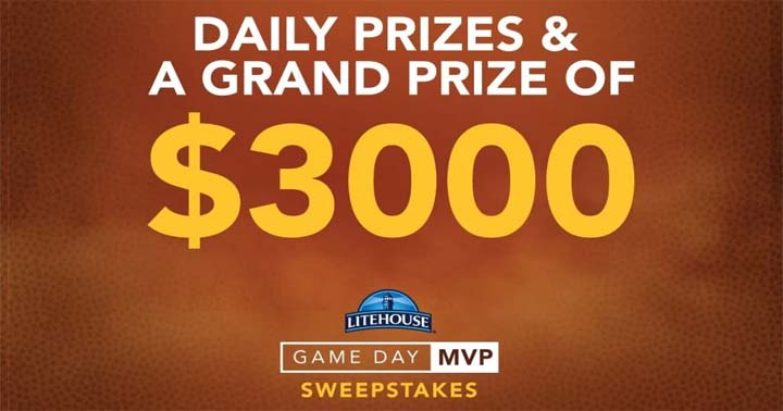 Litehouse Game Day MVP Sweepstakes