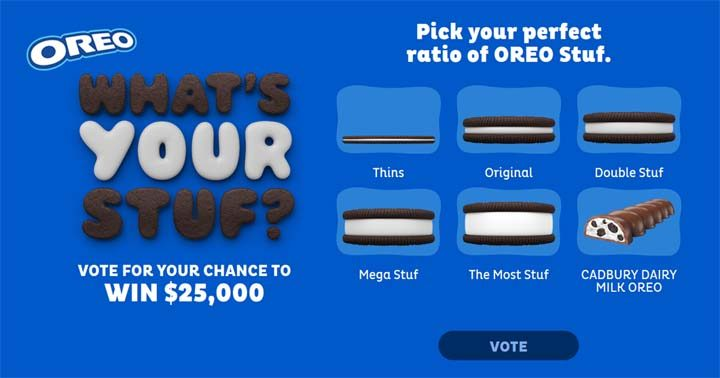 OREO What's your Stuf? Contest