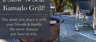 Slow 'N Sear Kamado Grill Giveaway
