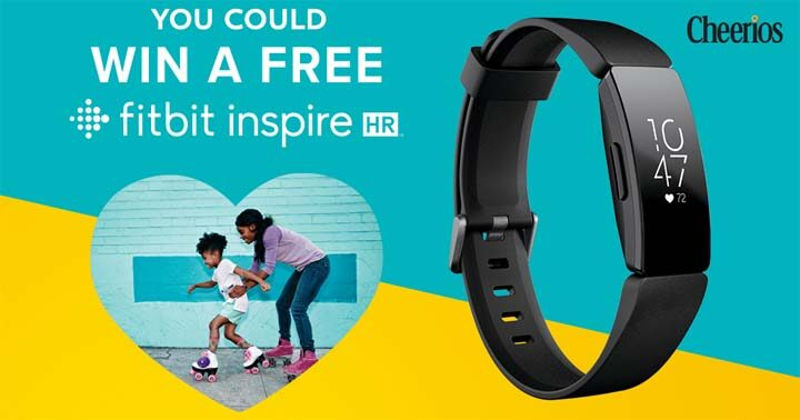 Cheerios Heart Health Promotion with Fitbit Sweepstakes