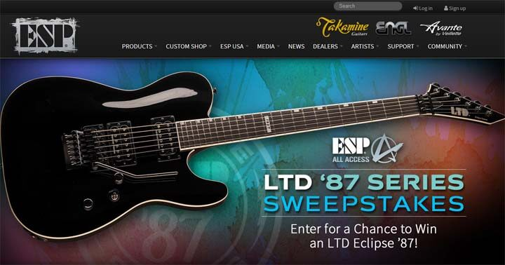 ESP 87 Series Sweepstakes