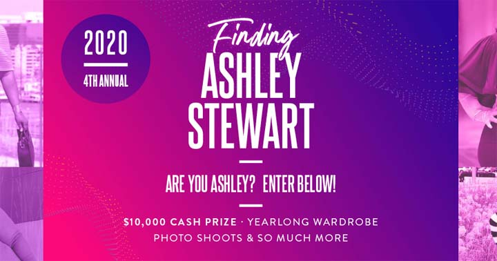 Finding Ashley Stewart Contest