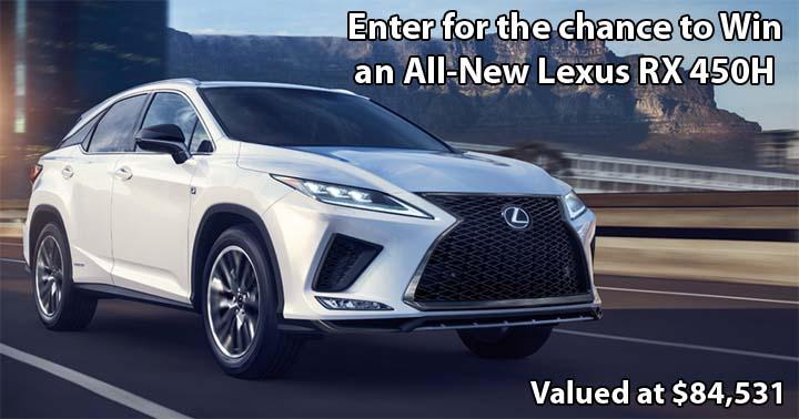 Lexus RX 450h Contest
