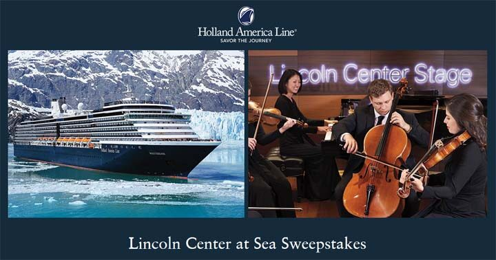 Lincoln Center at Sea Sweepstakes