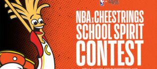 Cheestrings and NBA School Spirit Contest