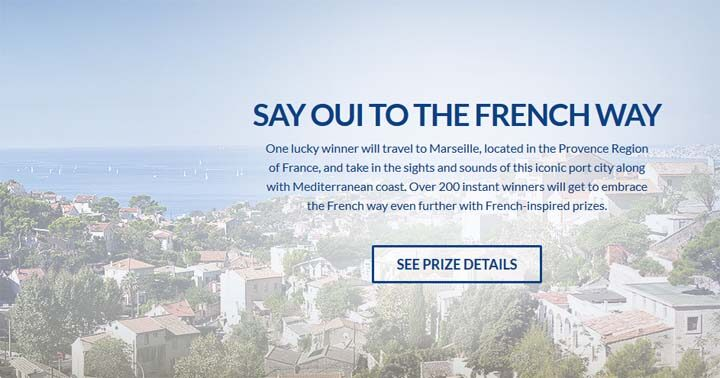 Yoplait Say Oui To The French Way Sweepstakes Prizes