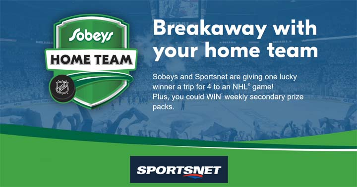 Sportsnet Sobeys Home Team Contest