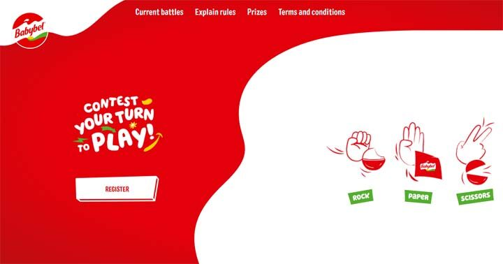 Babybel Your Turn to Play Contest