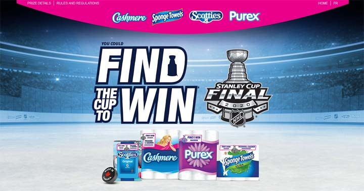 SpongeTowels Find the Cup & Win Contest
