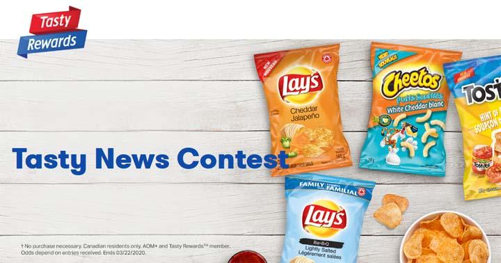 Tasty Frito-Lay News Contest
