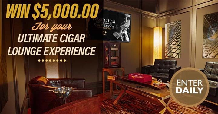 Ultimate Cigar Lounge Experience Giveaway