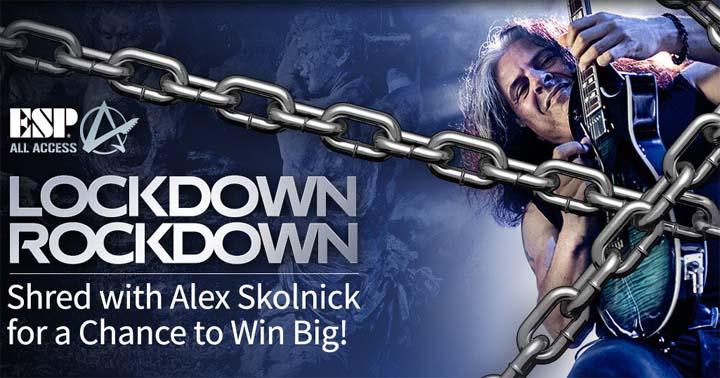 ESP Guitar Lockdown Rockdown Contest