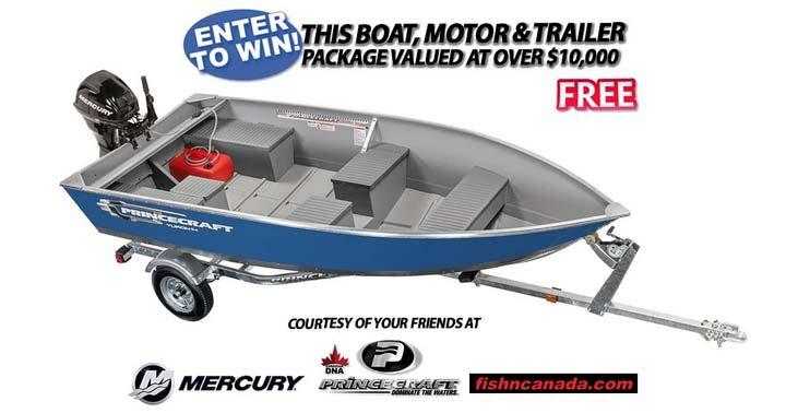 Fish'n Canada Princecraft Mercury Boat & Motor Giveaway
