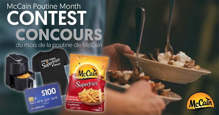 McCain Poutine Month Contest